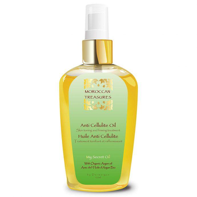 Huile anti cellulite à l'huile d'argan bio et aux huiles essentielles